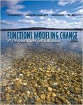 Functions Modeling Change: A Preparation for Calculus by Adam Spiegler