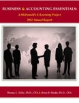 BUSINESS & ACCOUNTING ESSENTIALS: A McDonald's E-Learning Project 2012 Annual Report