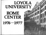 Loyola University Rome Center Yearbook 1976-1977
