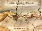 Loyola University Rome Center Yearbook 1994-1995 by Loyola University Rome Center