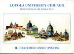 Loyola University Rome Center Yearbook 1996 by Loyola University Rome Center