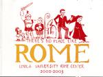Loyola University Rome Center 2002-2003