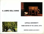 Loyola University Rome Center Yearbook 1969-1970 by Loyola University Rome Center