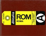 Loyola University Rome Center Yearbook 1972-1973 by Loyola University Rome Center