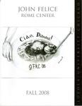 Loyola University Rome Center Yearbook 2008-2009