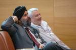 St. Albert's Day 2019 Dr. Singh and Dr. Marzo by Erik Unger